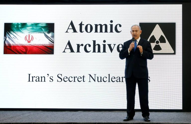 Israel Says Secret Files Prove Iran Lied About Nuclear Program