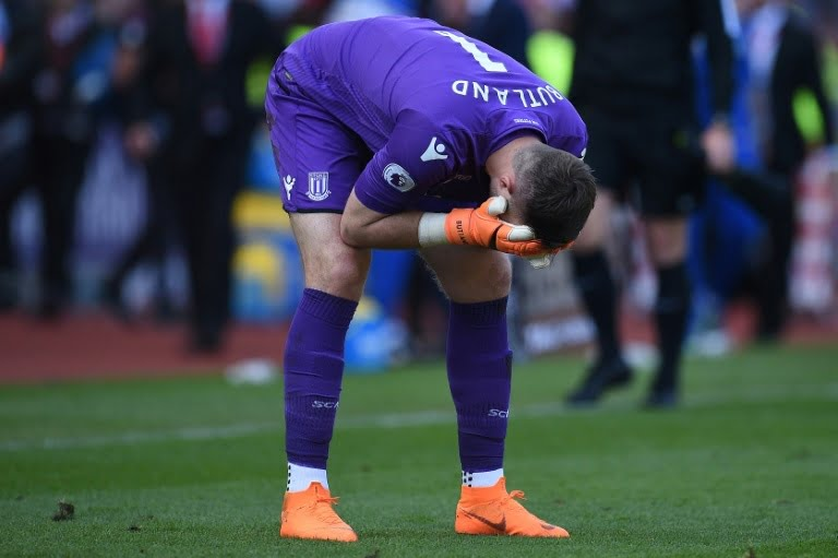 Jack Butland: Stoke City keeper blames 'farcical' signings for relegation