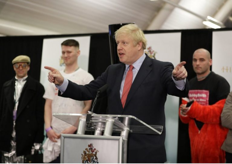 Johnson conservatives would achieve the absolute majority in the UK, according to ballot polls