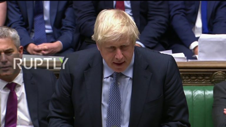 Johnson reiterates to Sturgeon his opposition to a second independence referendum in Scotland