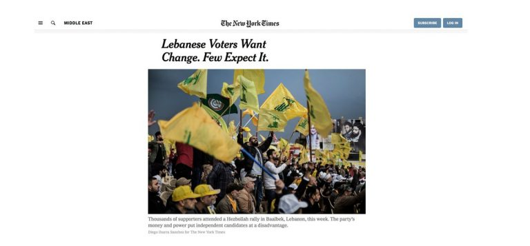 Lebanese Voters Want Change. Few Expect It.