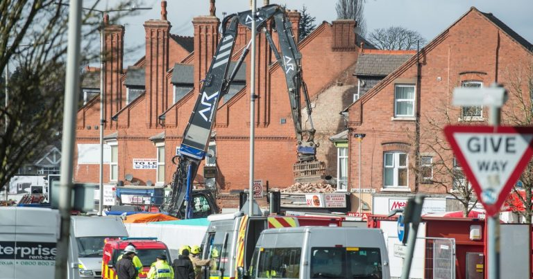 Leicester blast father tells of pain