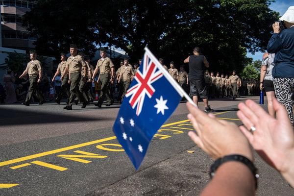 Letter 57: Australia Is Rich, Strong and Afraid of the World