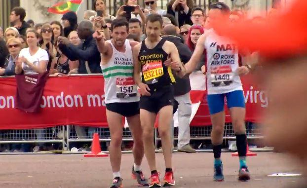 London Marathon: Matthew Rees and David Wyeth reunited