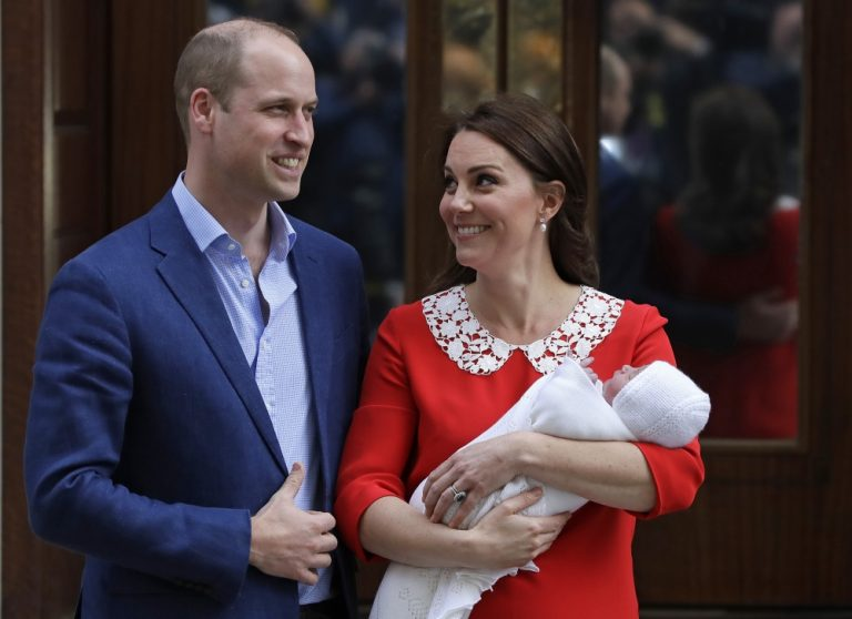 Louis Arthur Charles: Prince William and Duchess Kate name new royal baby