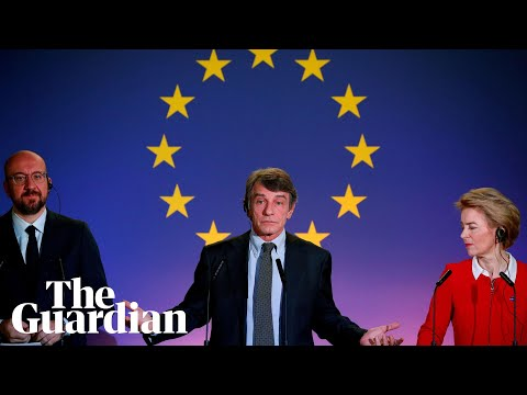 """Macron says that Brexit is a """"historic warning signal"""" and asks the EU to """"reflect"""""""