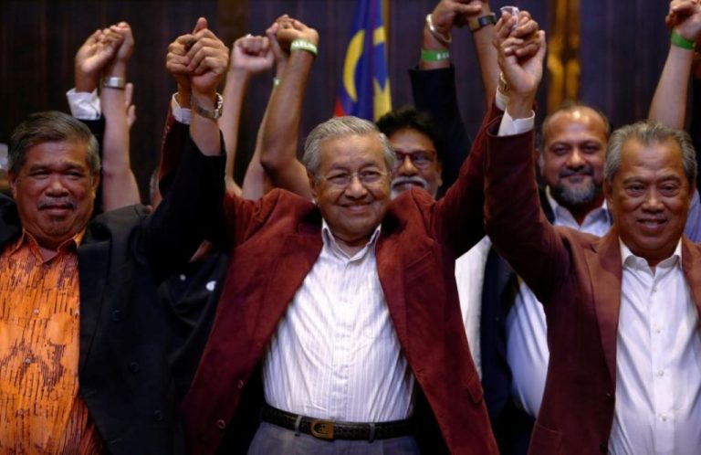 Malaysia Opposition, Led by 92-Year-Old, Wins Upset Victory