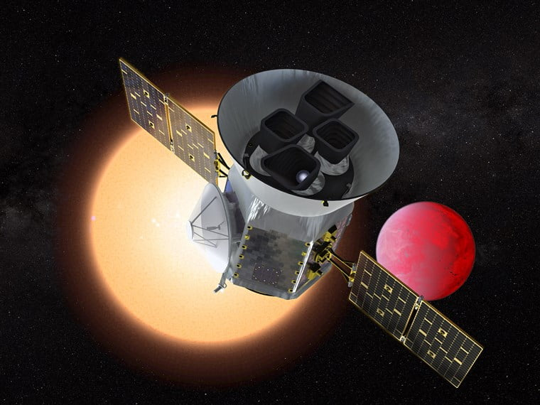 NASA's new planet-hunting satellite TESS heads into space