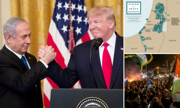 """Netanyahu defends before Putin the """"opportunity"""" posed by Trump's peace plan"""