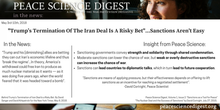 News Analysis: Behind Trump's Termination of Iran Deal Is Risky Bet That U.S. Can 'Break the Regime'