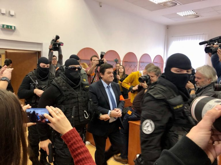 One of the accused for the murder of a journalist and his fiancé in Slovakia pleads guilty