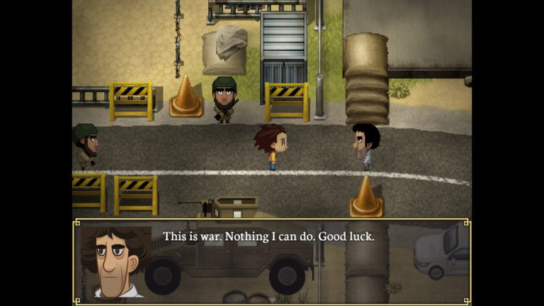 Play as a refugee in Syrian war video game