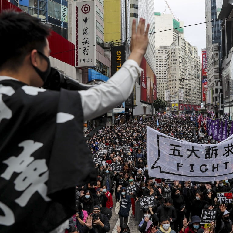 Protests continue in Hong Kong in the middle of the Chinese New Year