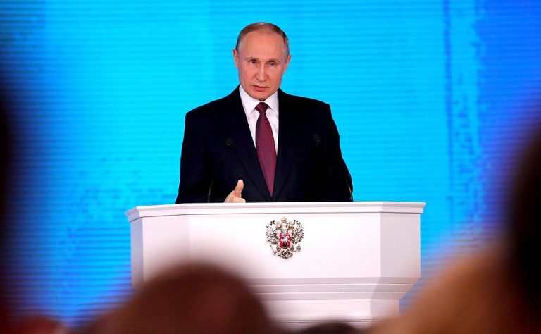 Putin calls to strengthen Russia's rapid reaction center with five former Soviet republics