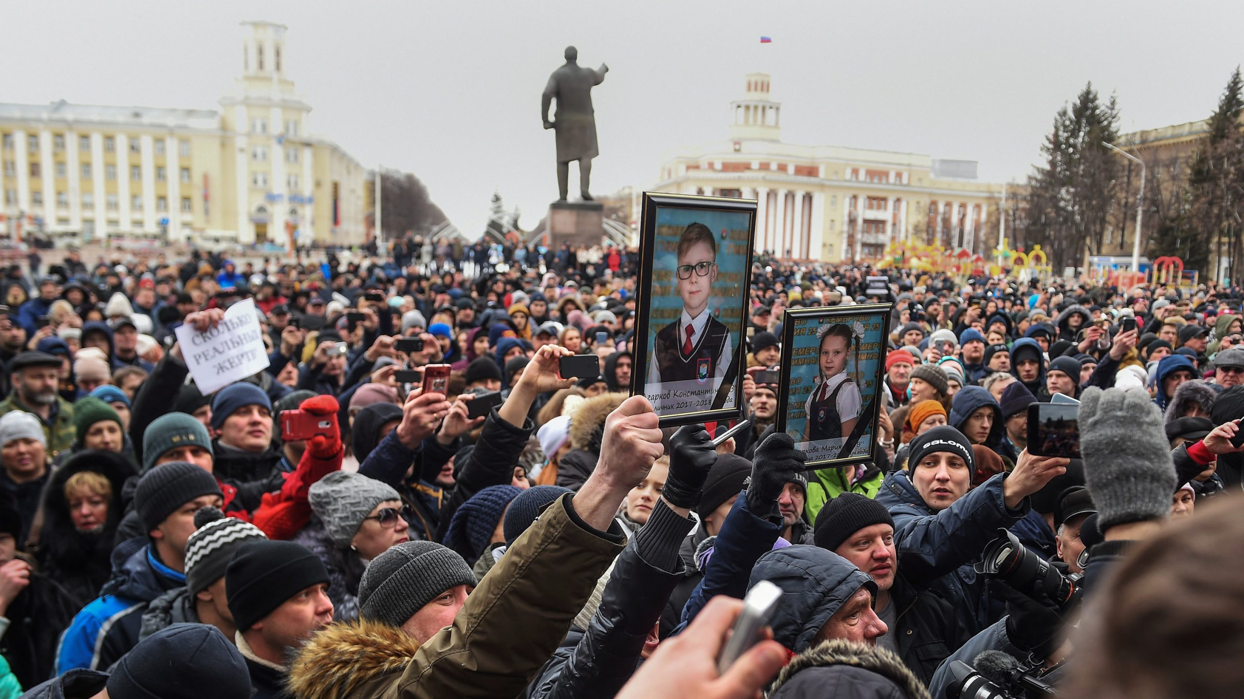 Putin's Grim Reality: Public Fury Over Children's Deaths in Mall