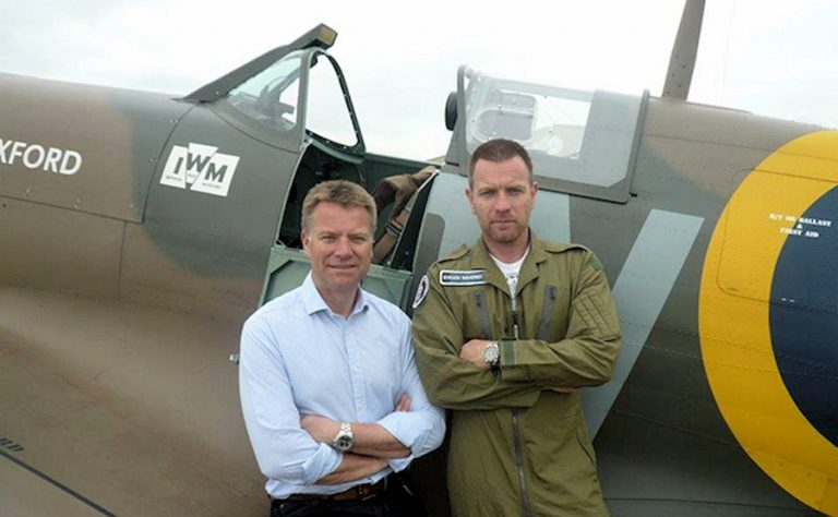 RAF at 100: Ewan McGregor meets the heroes