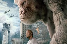 'Rampage' pits humans against their experiments. Root for the monsters.