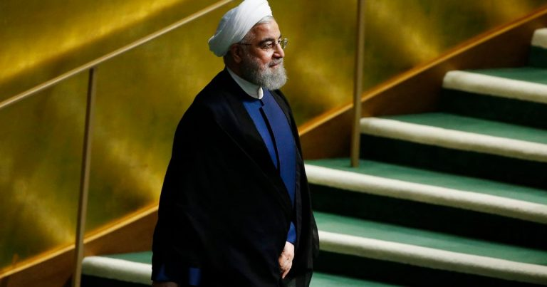 Rohani promulgates the law that lists terrorist to the United States Department of Defense