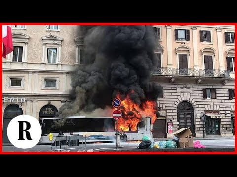 Rome Is Burning (or at Least Its Buses Are)