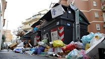 Rome's rubbish: The people trying to solve the problem