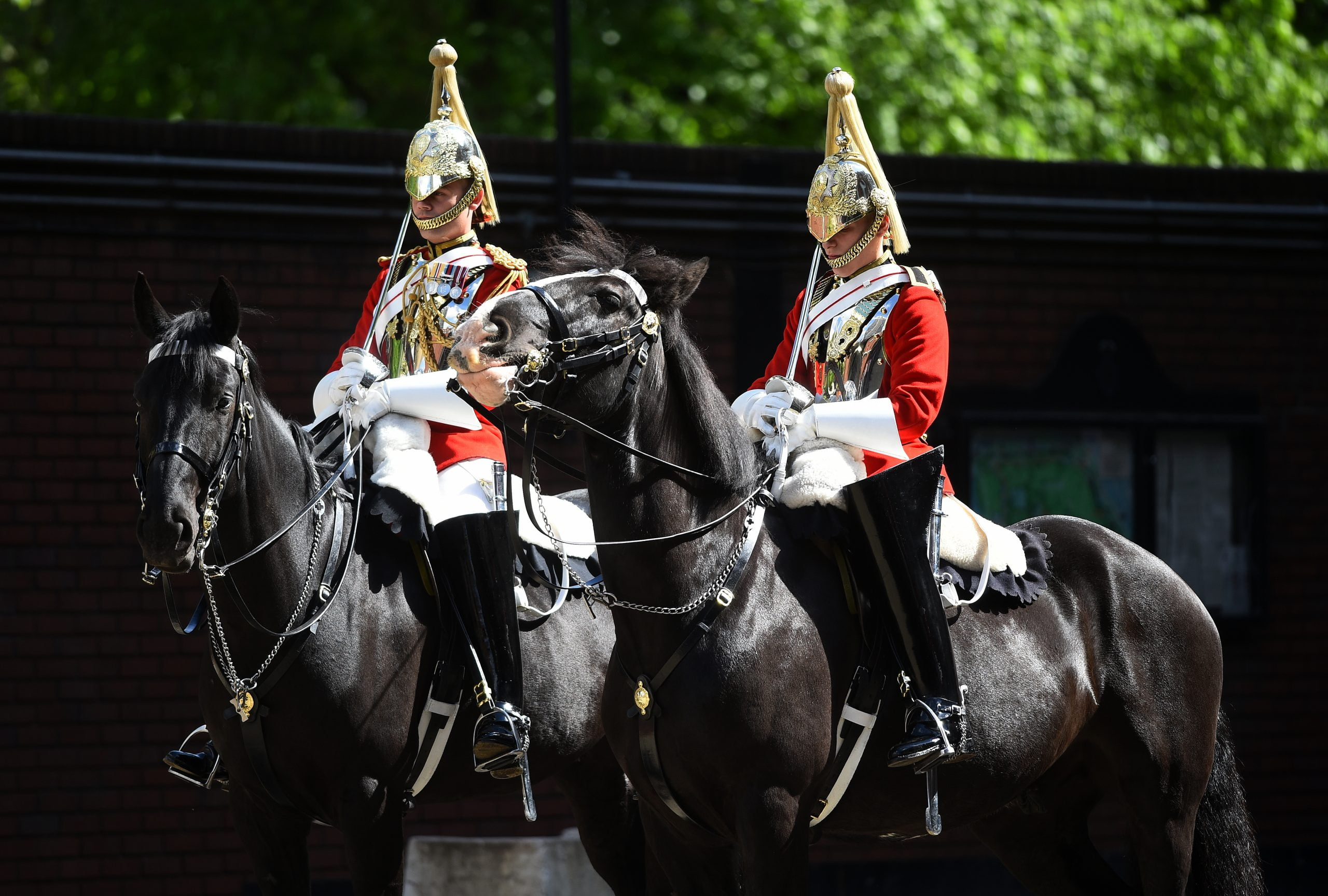 Royal wedding: Household Cavalry prepare for big day