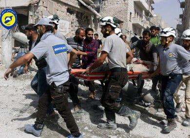 Russia notes at least 28 civilians killed and 56 injured during the fighting this week in Aleppo