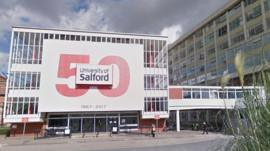 Salford University robot 'is like one of us'