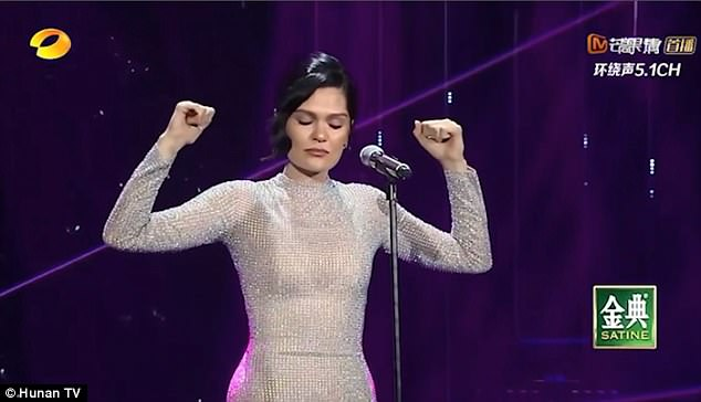 Singer Jessie J wins Chinese equivalent of X-Factor