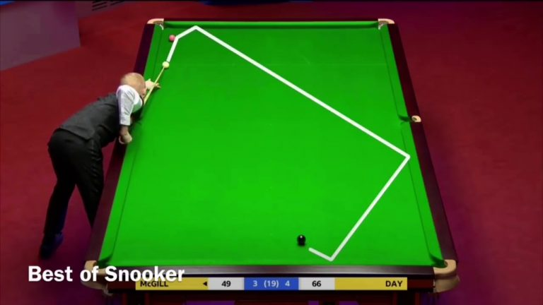 Snooker World Championship: Best shots of 2018