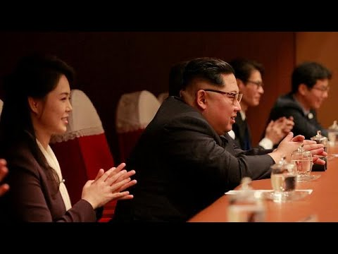 South Korean K-Pop stars entertain Kim Jong Un in Pyongyang