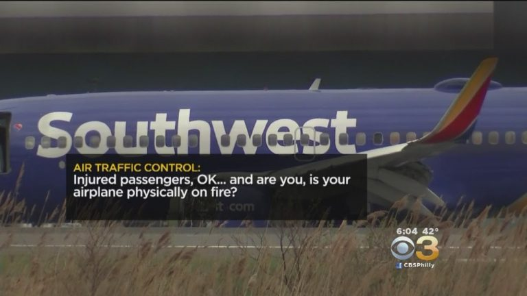 Southwest Airlines pilot: 'There's a hole and someone went out'