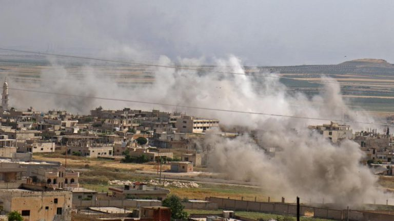 State Dept. monitoring reports of new chemical attack in Syria