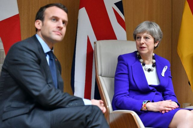 Statements by Theresa May and Emmanuel Macron on the Syria Strike