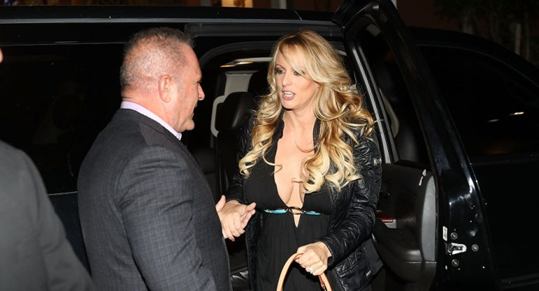 Stormy Daniels' lawyer files motion to depose Trump, Cohen