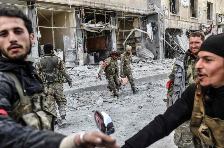 Syrian Rebels, Backed by Turkey, Seize Control of Afrin