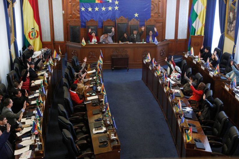 The Bolivian Congress approves the latest rules to start the selection of the new Electoral Tribunal