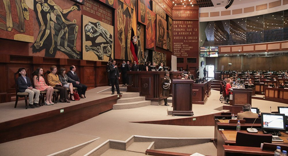 The Ecuadorian Parliament approves the tax reform of the Government