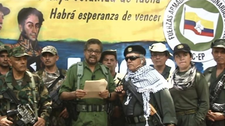 The Government of Colombia leaves the FARC out of its list of terrorist groups