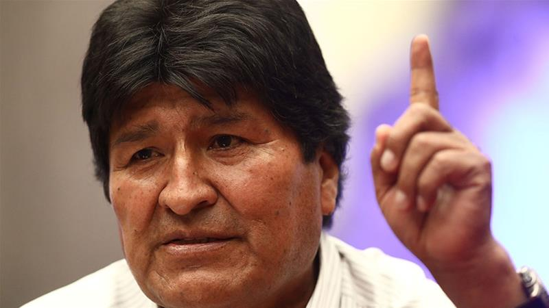 The ICTY confirms having received a complaint for crimes against humanity against Evo Morales