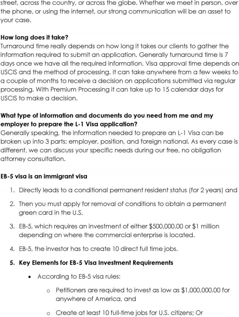 The Key Elements of Great Visas