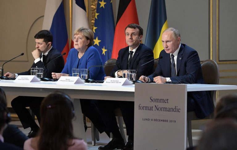 The Normandy Quartet agrees to boost the real application of the ceasefire in eastern Ukraine