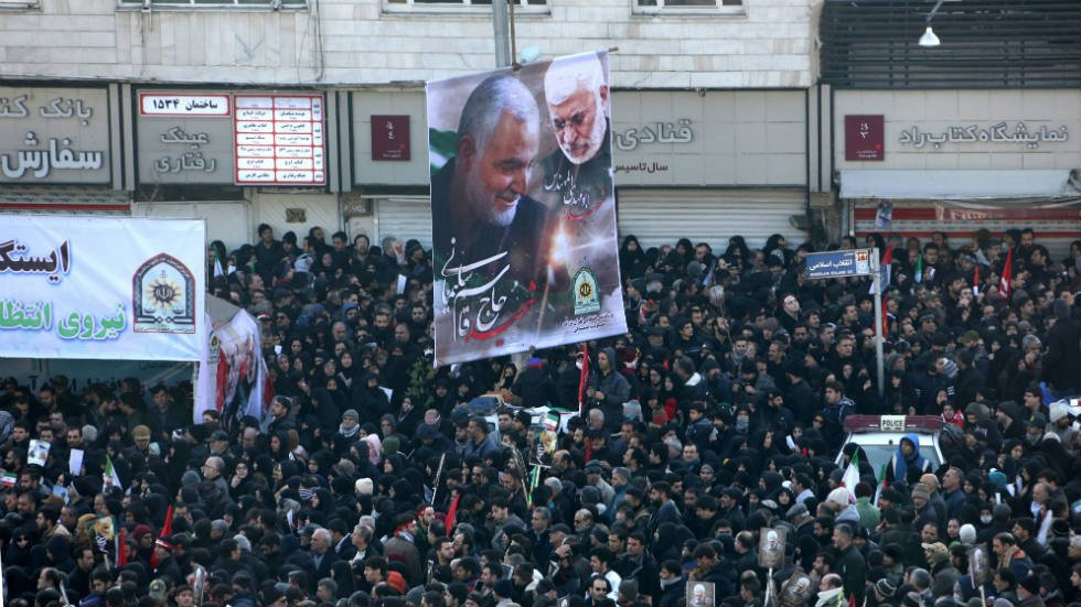 """The Talibana mourn the death of Soleimani and promise to continue fighting the """"barbarism"""" of the United States"""