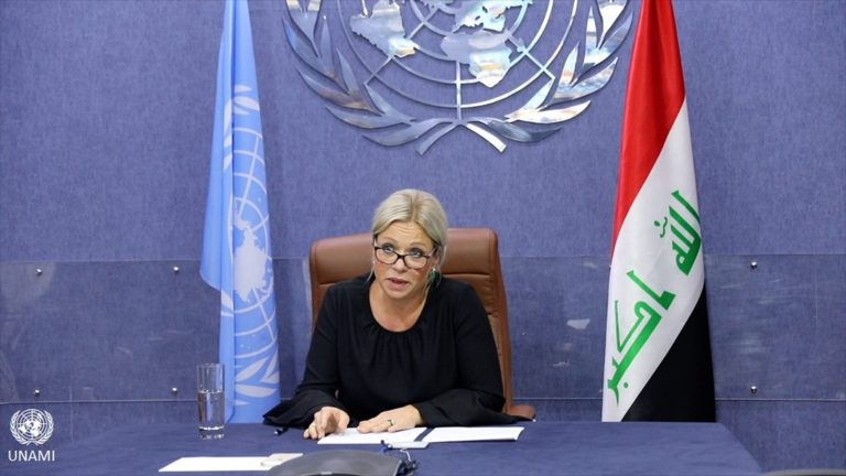 "The UN describes as ""atrocity"" the killing of protesters in Baghdad and asks the Armed Forces to protect civilians"