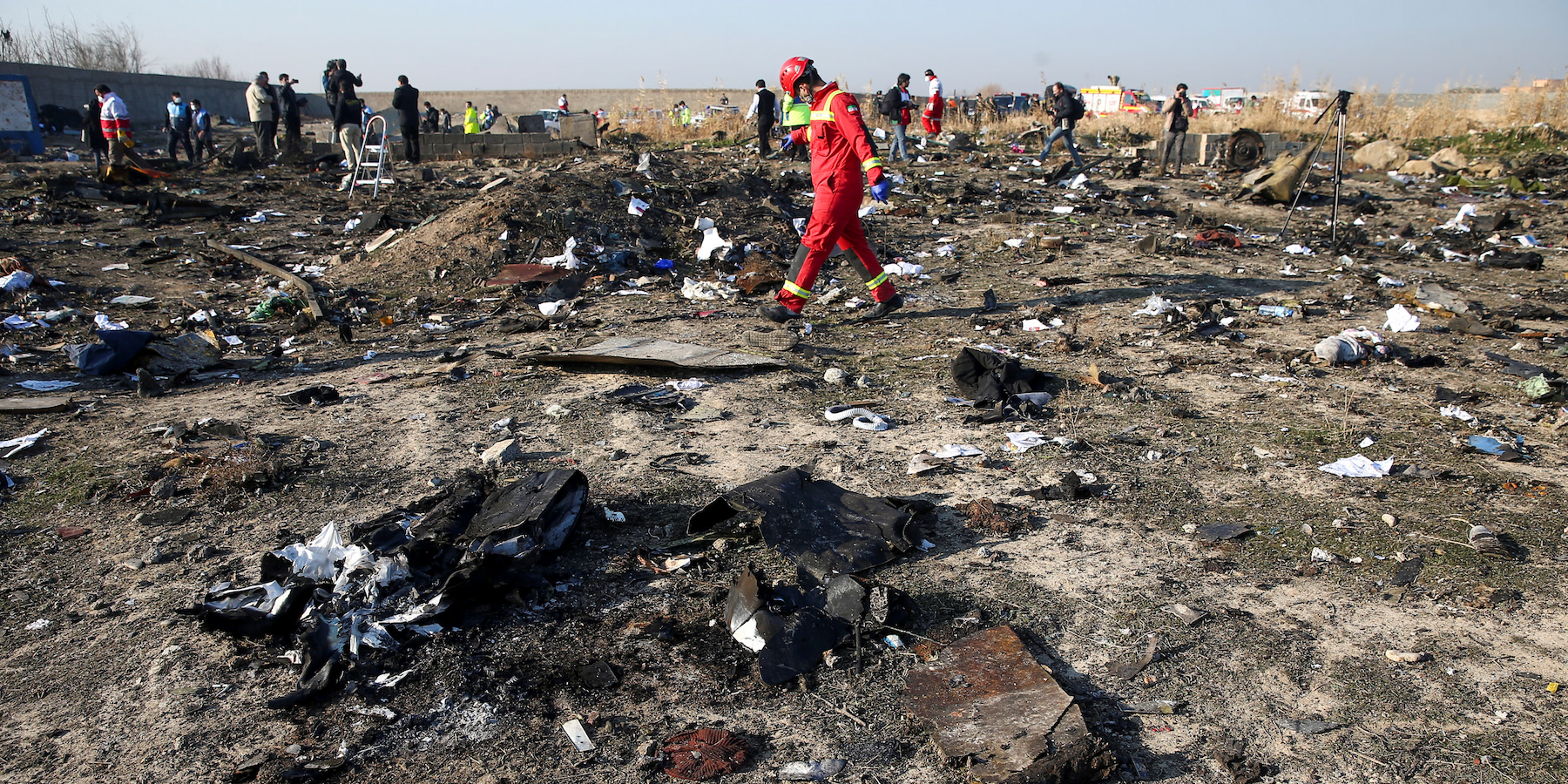 The US believes that Iran shot down the damaged Ukrainian plane in Tehran, according to CBS