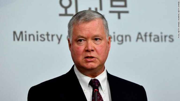The US envoy for North Korea asks Pyongyang to agree to resume nuclear negotiations