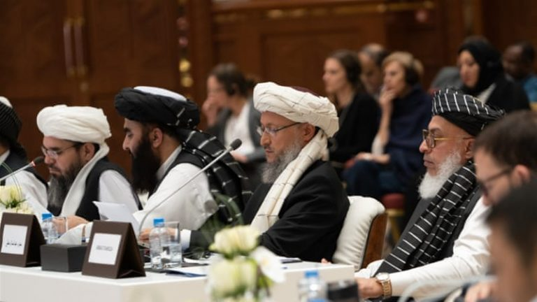 The US returns to peace talks with the Taliban in Doha (Qatar)
