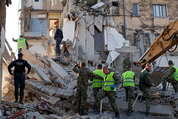 There are already 35 people killed by the earthquake in Albania, the worst in decades