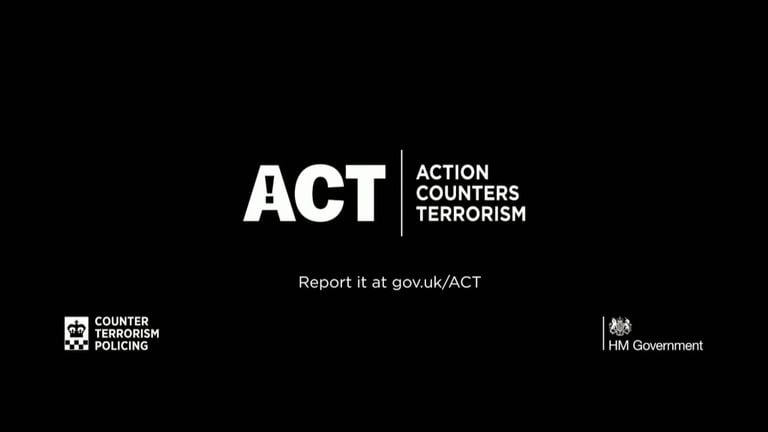 Tip-offs from the public help to fight terror