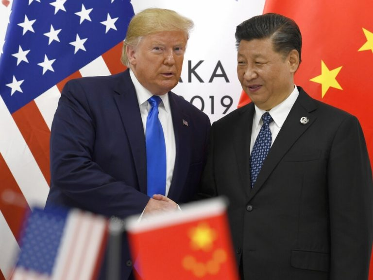 """Trump confirms """"progress"""" with China after a """"very good"""" talk with Xi about trade, Hong Kong and Korea"""