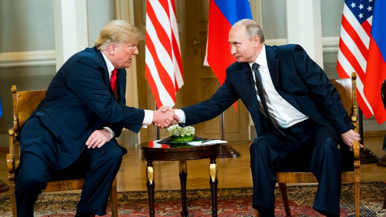 Trump Congratulates Putin on His Re-Election, Raises No Concerns About Election Meddling Here